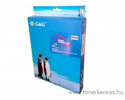Brother DCP-J4110 utángyártott tintapatron csomag GGBLC127MP Brother MFC-J4710DW tintasugaras nyomtatóhoz