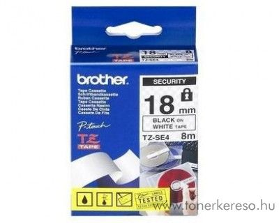 Brother eredeti TZeSE4 black-white szalag BRTZeSE4RB Brother P-Touch 2430PC mátrixnyomtatóhoz