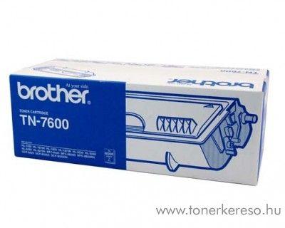 Brother HL-1650/1850 eredeti black fekete toner TN-7600 Brother DCP-8020 lézernyomtatóhoz