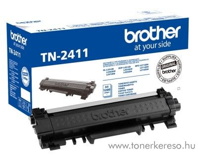 Brother HL-2312D/DCP-2512D eredeti black toner TN2411