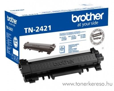 Brother HL-2312D/DCP-2512D eredeti black toner TN2421