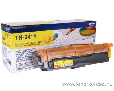 Brother HL-3170CW/3140CW eredeti yellow toner TN241Y
