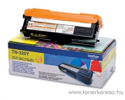 Brother HL-4140/4150/4570 eredeti yellow toner TN-320Y