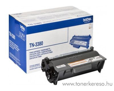 Brother HL-5440D/DCP-8250D eredeti black toner TN3380