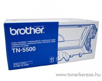 Brother HL-7050/N eredeti black fekete toner TN-5500