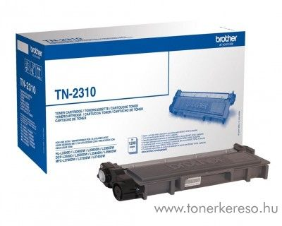 Brother HL-L2300D/DCP-L2500D eredeti black toner TN2310