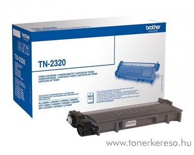 Brother HL-L2300D/DCP-L2500D eredeti black toner TN2320