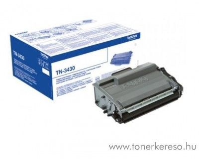 Brother HL-L6250DN/L6400DWT eredeti black toner TN3430