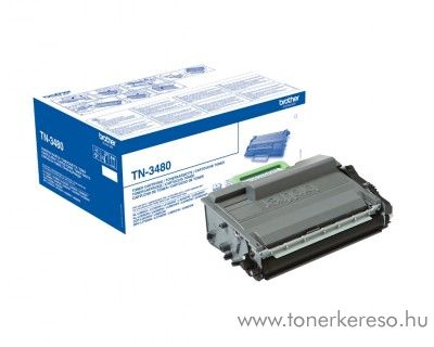 Brother HL-L6250DN/L6400DWT eredeti black toner TN3480