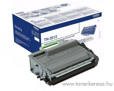 Brother HL-L6250DN/L6400DWT eredeti black toner TN3512
