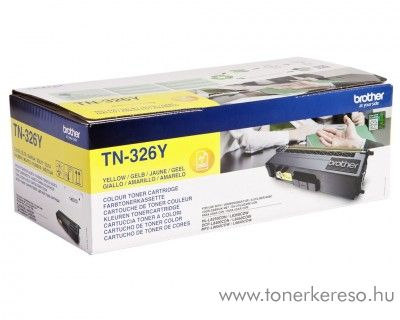 Brother HL-L8250CDN eredeti yellow toner TN326Y