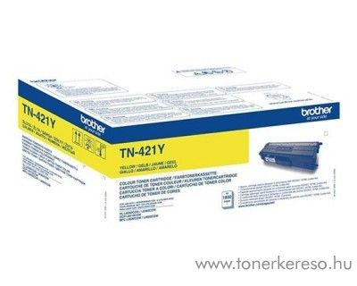 Brother HL-L8260CDW/L8360CDW eredeti yellow toner TN421Y
