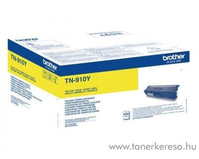 Brother HL-L9310/L9310CDW eredeti yellow toner TN910Y