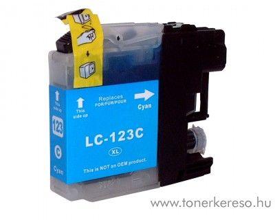Brother LC123CXL nagykap cyan utángyártott tintapatron