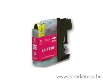 Brother LC123MXL nagykap magenta utángyártott tintapatron Brother MFC-J650DW tintasugaras nyomtatóhoz