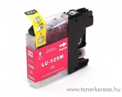 Brother LC125MXXL nagykap magenta utángyártott tintapatron