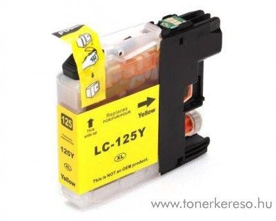 Brother LC125YXXL nagykap yellow utángyártott tintapatron