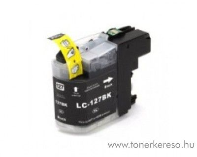 Brother LC127BKXXL nagykap black utángyártott tintapatron Brother MFC-J4710DW tintasugaras nyomtatóhoz