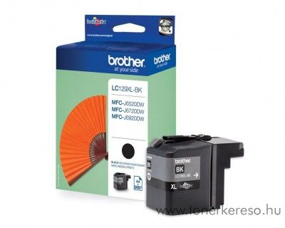 Brother LC129XLBK eredeti fekete tintapatron J6520/J6720/J6920 Brother DCP-J6920DW tintasugaras nyomtatóhoz