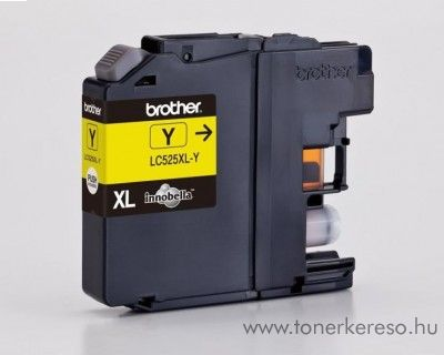 Brother LC525XLY eredeti yellow tintapatron DCP-J100/J105/J200