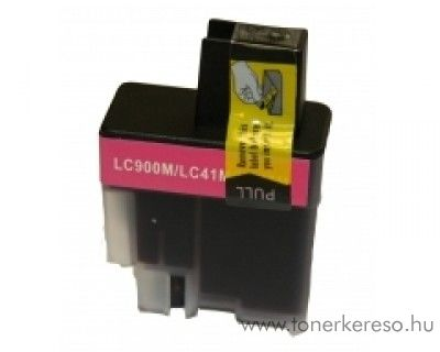 Brother LC900M kompatibilis magenta tintapatron OBLC900M Brother FAX 2440CDP faxhoz