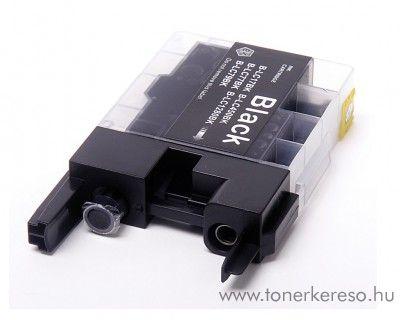 Brother LC-1240/1280BK fekete kompatibilis tintapatron