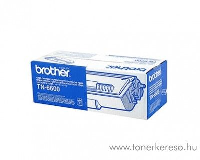 Brother MFC-9850/HL-1240 eredeti black fekete toner TN-6600 Brother FAX 4750 faxhoz