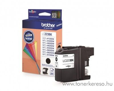 Brother MFC-J4420DW/J4620DW eredeti black tintapatron LC223BK Brother MFC-J5720DW  tintasugaras nyomtatóhoz
