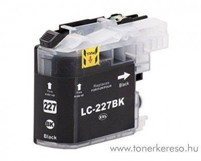 Brother MFC-J4420DW utángyártott black tintapatron GGBLC227XLB Brother DCP-J4120DW tintasugaras nyomtatóhoz