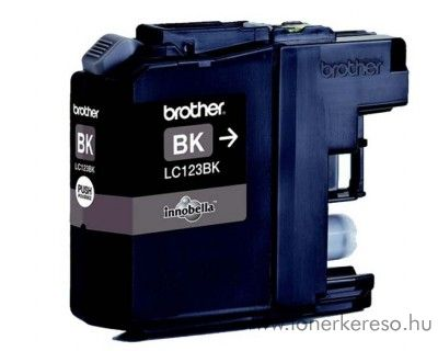 Brother MFC-J4510DW eredeti black fekete tintapatron LC123BK Brother MFC-J4710DW tintasugaras nyomtatóhoz