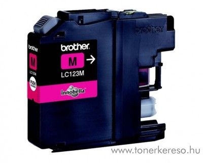 Brother MFC-J4510DW eredeti magenta tintapatron LC123M
