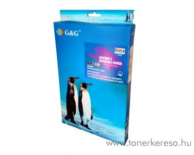 Brother MFC-J4510DW utángyártott 5db-os csomag GGBLC123MP Brother DCP-J6520DW tintasugaras nyomtatóhoz