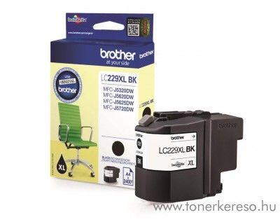 Brother MFC-J5320DW/J5620DW eredeti black tintapatron LC229XLBK Brother MFC-J5720DW  tintasugaras nyomtatóhoz