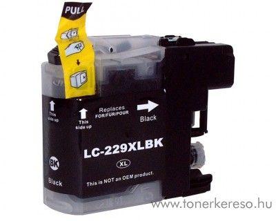 Brother MFC-J5320DW utángyártott black tintapatron GGBLC229XLB  Brother MFC-J5320DW tintasugaras nyomtatóhoz