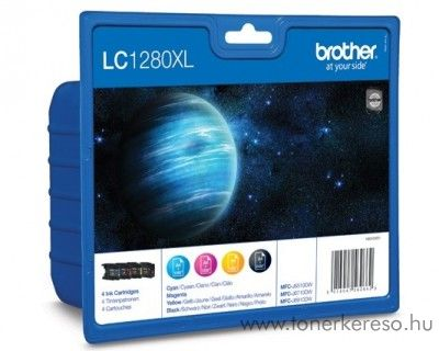 Brother MFC-J6510 eredeti CMYBK tintapatron pack LC1280XLVALBP