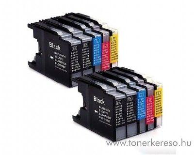 Brother MFC-J6510 utángyártott 10-es tinta csomag OBBLC1280MP10 Brother DCP-J525W tintasugaras nyomtatóhoz