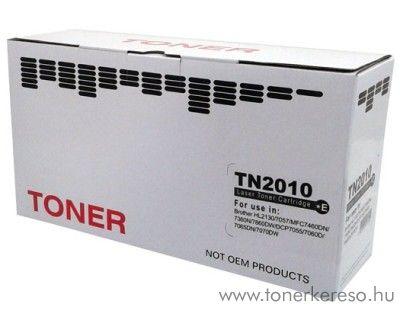 Brother TN-2010 utángyártott fekete toner SP2010 Brother DCP-7057E lézernyomtatóhoz