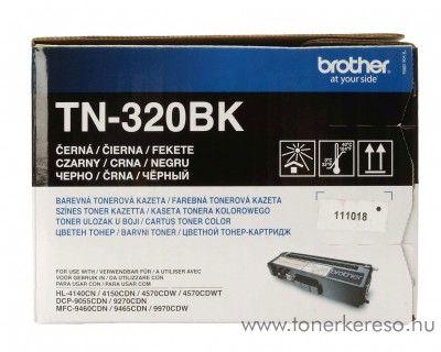 Brother DCP-9055/MFC-9970 eredeti black fekete toner TN-320BK Brother HL-4570CDW lézernyomtatóhoz