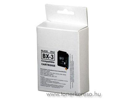 Canon BX-3 fekete tintapatron GIBX3 Canon BJC-265SP tintasugaras nyomtatóhoz