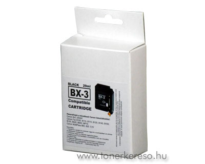 Canon BX-3 fekete tintapatron GIBX3 Canon Fax B155 tintasugaras nyomtatóhoz