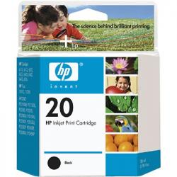 HP C6614D Bk (No. 20) tintapatron