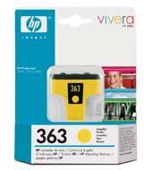 HP C8773EE (No. 363) Y tintapatron HP Photosmart D6160 tintasugaras nyomtatóhoz