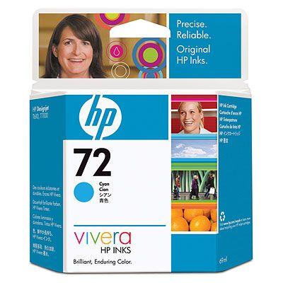 HP C9398A (No. 72) Cyan tintapatron HP Designjet T1120 tintasugaras nyomtatóhoz