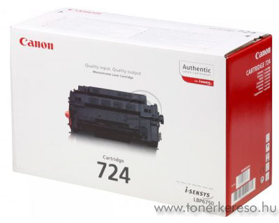 Canon Cartridge 724 lézertoner Canon i-SENSYS LBP6780x lézernyomtatóhoz