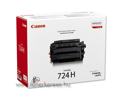 Canon Cartridge 724H lézertoner Canon i-SENSYS LBP6780x lézernyomtatóhoz