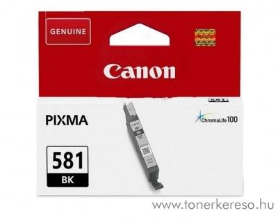 Canon  PIXMA TR7550 eredeti black tintapatron CLI581BK Canon PIXMA  TS8151 tintasugaras nyomtatóhoz
