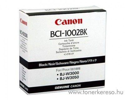 Canon BCI-1002BK eredeti fekete black tintapatron 5843A001AA Canon BJ-W3050 tintasugaras nyomtatóhoz