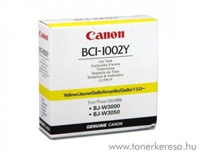 Canon BCI-1002Y eredeti yellow tintapatron 5837A001AA Canon BJ-W3050 tintasugaras nyomtatóhoz
