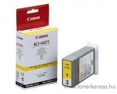 Canon BCI-1401Y eredeti yellow tintapatron 7571A001AA