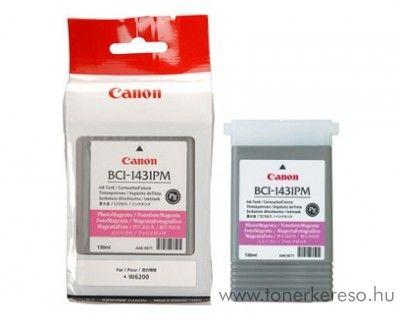 Canon BCI-1431PM eredeti photo magenta tintapatron 8974A001AA Canon imagePROGRAF W6400P tintasugaras nyomtatóhoz
